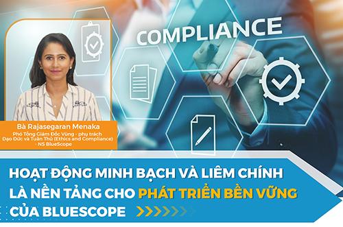 Hoạt Động Minh Bạch Và Liêm Chính Là Nền Tảng Cho Phát Triển Bền Vững Của BlueScope