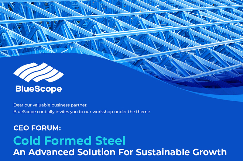 COLD FORMED STEEL An Advanced Solution For Sustainable Growth