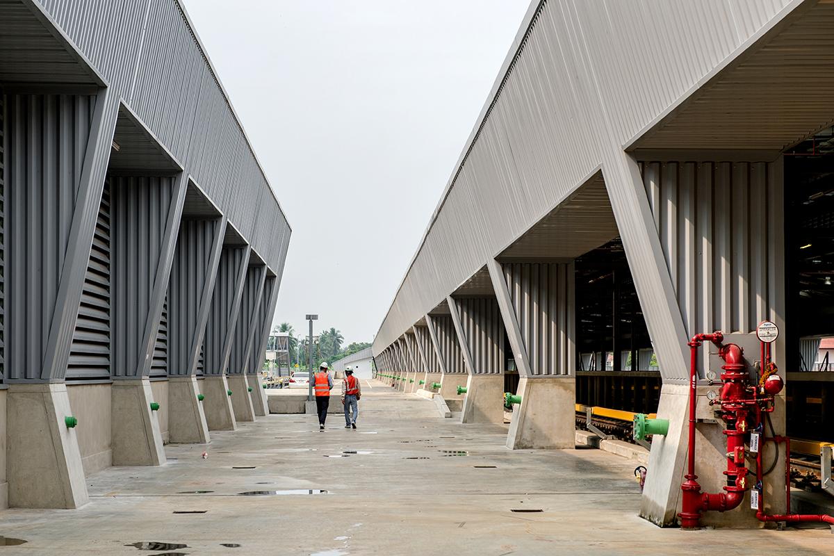MRT: Blue Line Depot