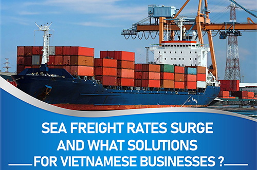 SEA FREIGHT RATES SURGE AND WHAT SOLUTIONS FOR VIETNAMESE BUSINESSES?