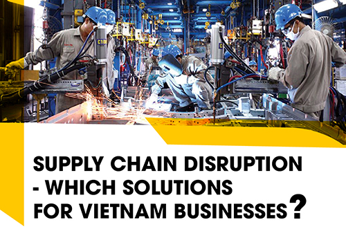 SUPPLY CHAIN DISRUPTION – WHICH SOLUTIONS FOR VIETNAM BUSINESSES?