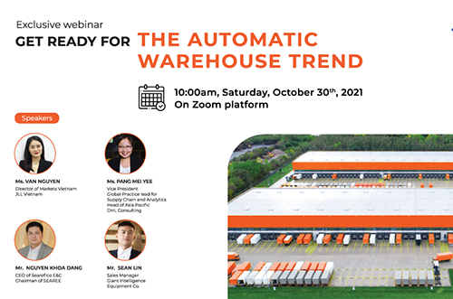 GET READY FOR THE AUTOMATIC WAREHOUSE TREND